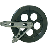 PULLEY PLASTIC 6