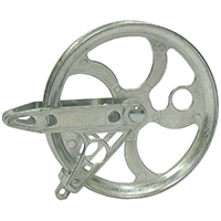 PULLEY METAL 5 1/2 BALL BEARIN