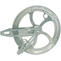 PULLEY BEARING CLOTHESLINE 8IN