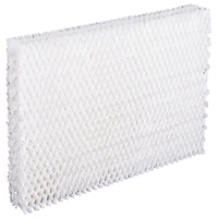 Bestair L8-C Wick Filter, For Use with Humidifier, 8-1/8 X 12 X 1-3/4 in, Aluminum, White