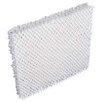 Bestair DU3-C Wick Filter, For Use with Humidifier, 7-1/4 X 7-3/4 X 1 in, Aluminum, White