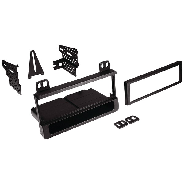 Best Kits and Harnesses BKFMK550 In-Dash Installation Kit (Ford/Lincoln/Mercury 1995-2012 Single-DIN with Pocket)