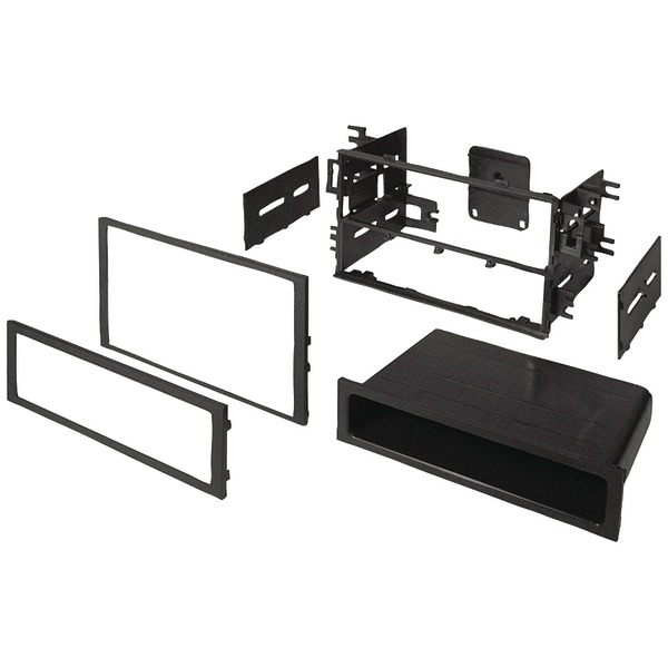 Best Kits and Harnesses BKHONK830 In-Dash Installation Kit (Honda/Acura 1990-2006 double-DIN/Single-DIN with Pocket)