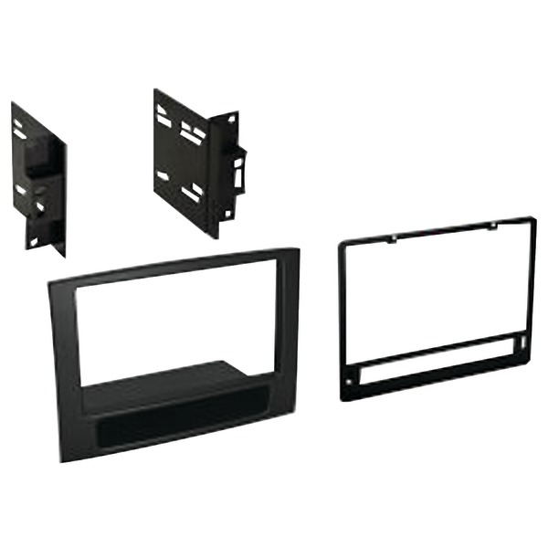Best Kits and Harnesses BKCDK651 Dodge Ram 2006-2008 Double-DIN Kit for Non-Navigation Factory Radios