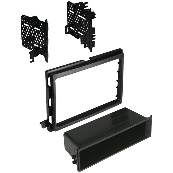 Best Kits and Harnesses BKFMK540 Ford/Lincoln/Mercury 2004-2016 Double-DIN/Single-ISO with Pocket Combo Kit