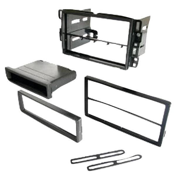 Best Kits and Harnesses BKGMK317 Chevrolet 2006-2016 Double-DIN/Single-DIN with Pocket Kit
