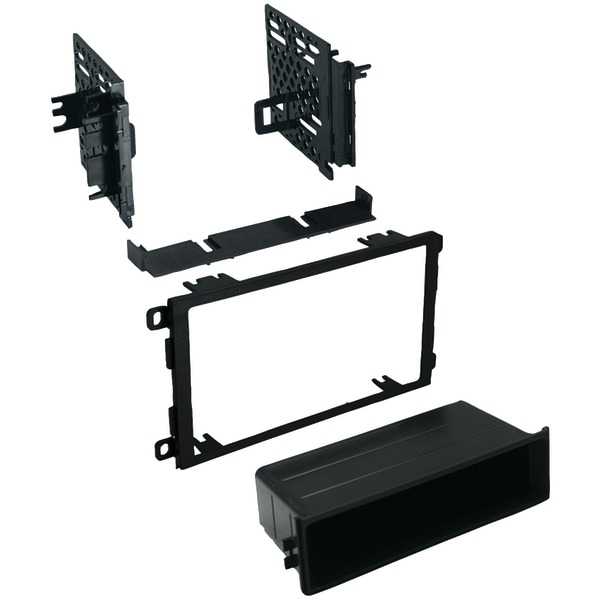 Best Kits and Harnesses BKGMK421 GM Universal 1992-2012 with Oversized Radios Double-DIN/Single-ISO with Pocket Kit