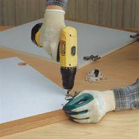 Best+ Large Nitri-Flex+ Lite General Purpose, Nitrile-Coated Palm-Dipped, Nylon Seamless Shell Glove