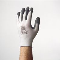 Best+ Size 8 Zorb-IT+ Extra Sponge Nitrile-Coated 3/4 Dipped General Purpose Glove WIth Nylon Knit Liner