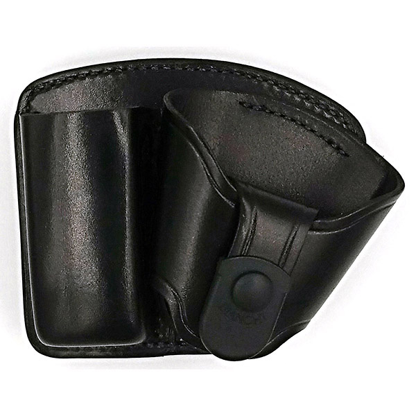 45 Mag/Cuff Paddle Holster, Plain Black, Size 04