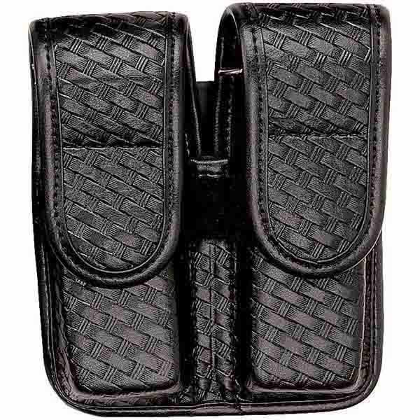 7902 Double Mag Pouch, B/W Black, Hidden, Beretta 92/96