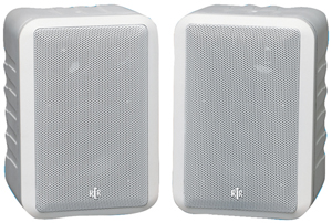"BIC AMERICA RTRV44-2W 4"" RtR Series Indoor/Outdoor 3-Way Speakers (White)"