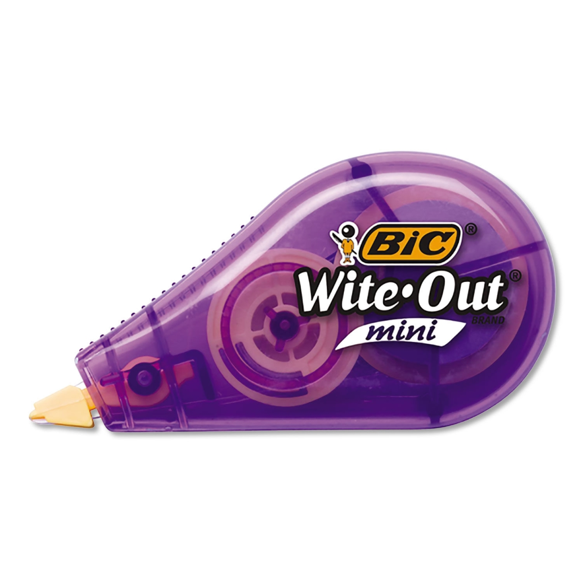"Wite-Out Brand Mini Correction Tape, Non-Refillable, 1/2"" w x 26.2 ft, Assorted"