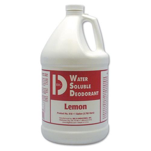 Big D Water Soluble Deodorant - Gal., Mountain Air, 4/cs, Mountain Air,