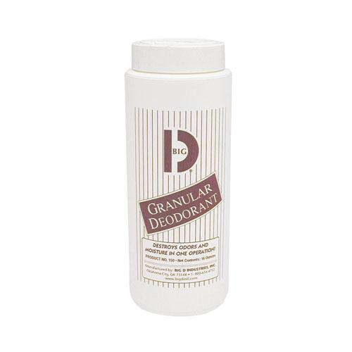 Big D Granular Deodorant - 1 lb., 12/cs,
