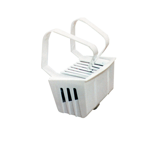 Non-Para Toilet Bowl Block, Lasts 30 Days, White, Evergreen Fragrance, 12/Box