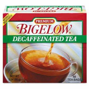 Single Flavor Tea, Decaffeinated Black, 48 Bags/Box