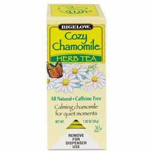 Single Flavor Tea, Cozy Chamomile, 28 Bags/Box