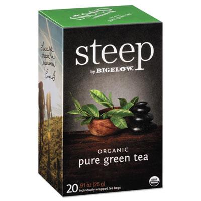 steep Tea, Pure Green, 0.91 oz Tea Bag, 20/Box