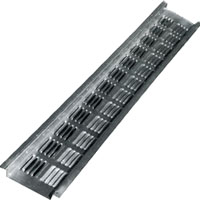 SOFFIT VENT 2INX8FT BROWN ALUM