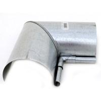Billy Penn 2604 Half Round Gutter Inside Miter, For Use With 5 in Half Round System