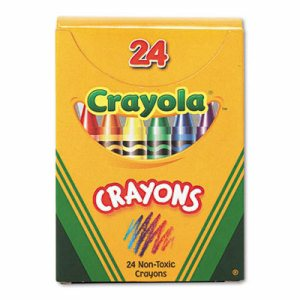 Classic Color Crayons, Tuck Box, 24 Colors