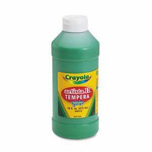 Artista II Washable Tempera Paint, Green, 16 oz