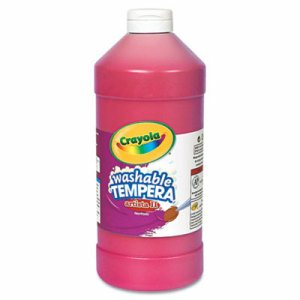 Artista II Washable Tempera Paint, Red, 32 oz