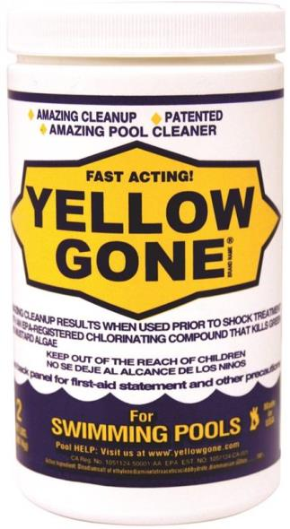 Biolab Yellow Gone Pool Chemical, 2 lb