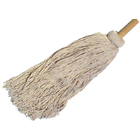 Birdwell Cleaning 1542-3 Roof Mop, 8 Ply, Cotton Yarn