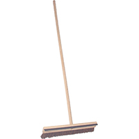Birdwell Cleaning 112-12 Driveway Coater/Handle With Squeegee, 5/8 x 18 in Brush, Natural Palmyra Fiber Trim, 7/8 in