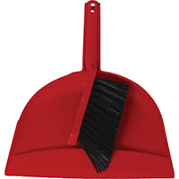 Birdwell Cleaning 030-12 Duster and Dustpan With Snap-In Brush, 10-1/4 in W