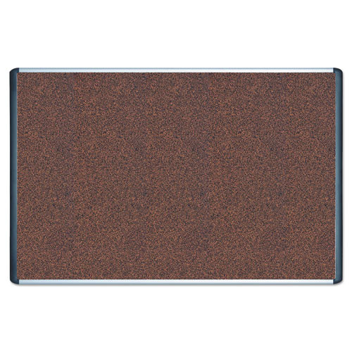 Tech Cork Board, 48x72 Silver/Black Frame