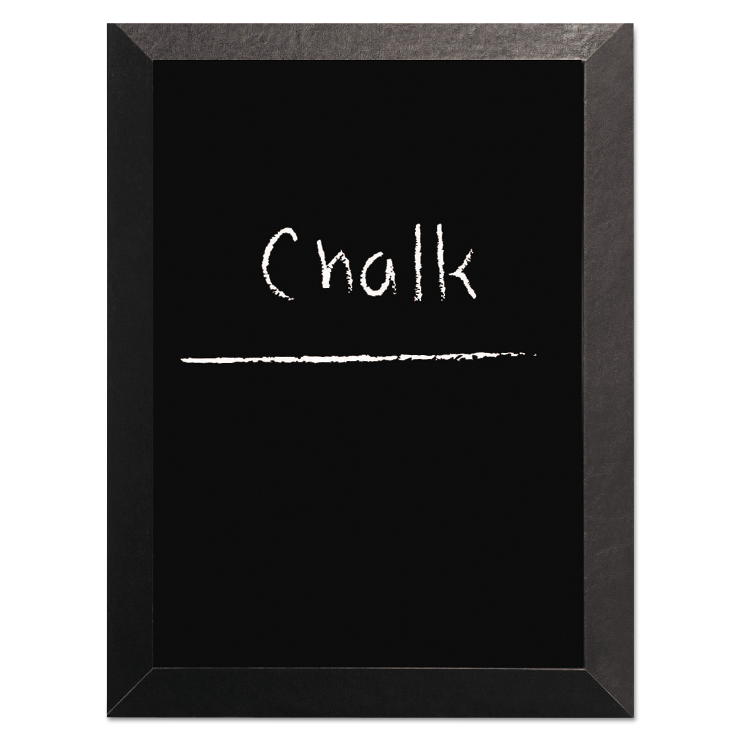 Kamashi Chalk Board, 36 x 24, Black Frame