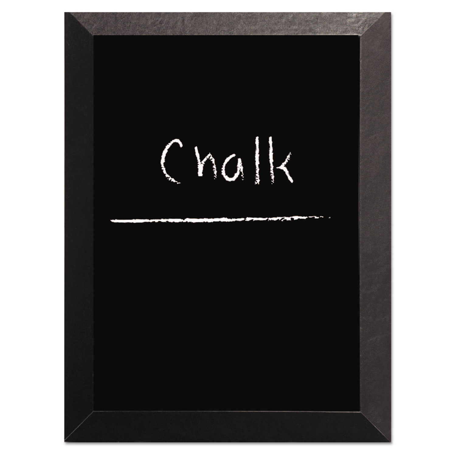 Kamashi Chalk Board, 48 x 36, Black Frame