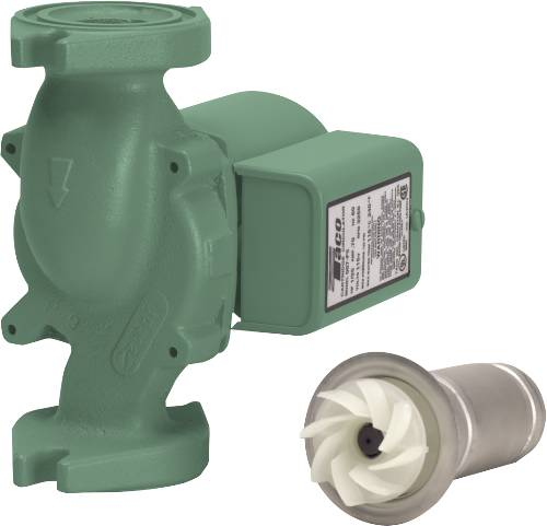 TACO CAST IRON WATER CIRCULATOR PUMP, 1/25 HP