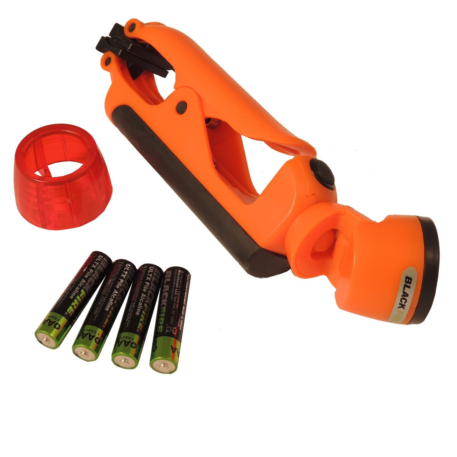 Clamplight Emergency, Emergency Orange, 100 lm, 3x AAA
