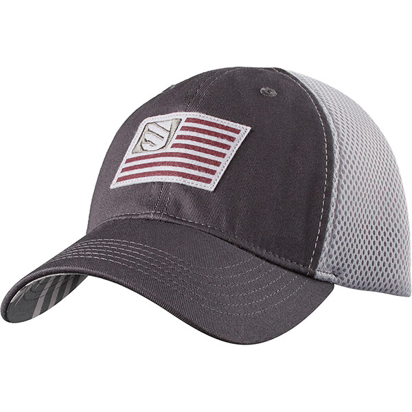 Blackhawk Foam Mesh Back Fitted Cap Slate/Steel M/L