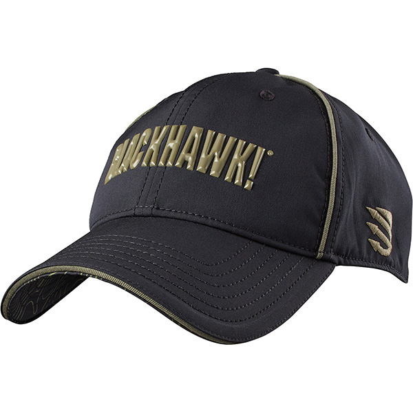 Blackhawk Performance Stretch Fit Cap Black L/XL