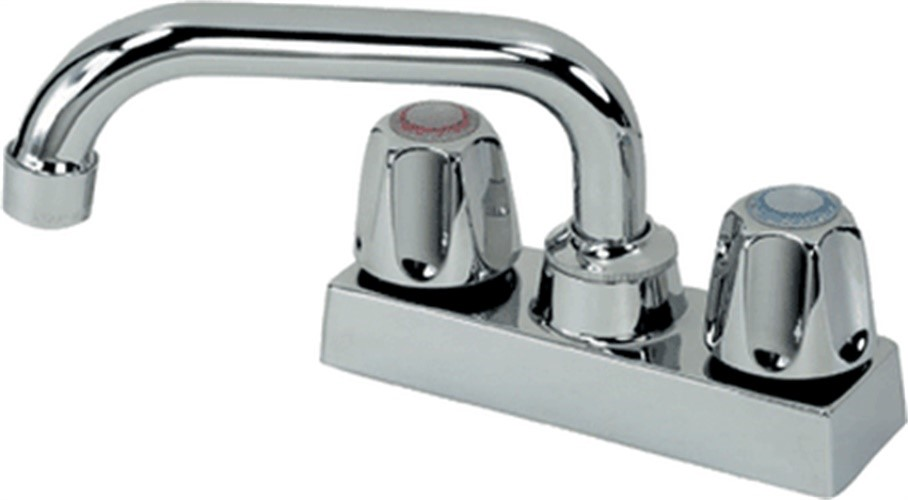 LAUNDRY TRAY FAUCET 2-HNDL CH