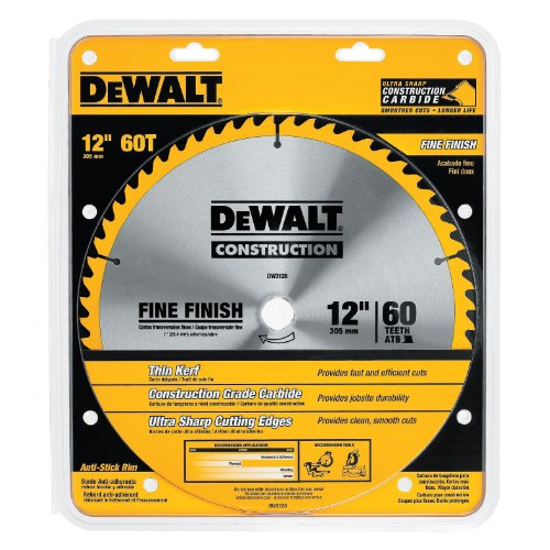 DW3126 12 IN. 60T KERF CT BLADE