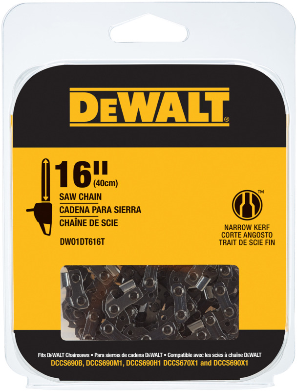 DWO1DT616T 16 IN. REPL SAW CHAIN