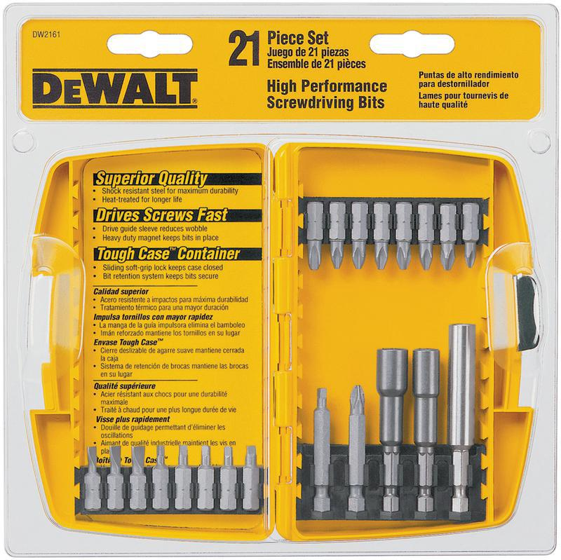 21-PIECE SCREWDRIVING SET