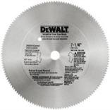 DW3329 7 1/4 IN. 68T STEEL SAW BLADE