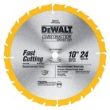 10 INCHES 24 TEETH THIN KERF SERIES 20 LARGE DIAMETER SAW BLADES