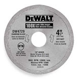 DW4729 4 IN. TILE BLADE