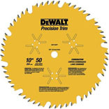 10 INCH 50 TEETH-PER-INCH TRIM BLADE