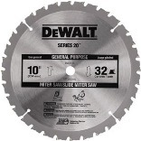 10-INCH 32T KERF CT BLADE