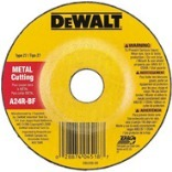 DW4514 4-1/2X1/4 CUTTER WHEEL