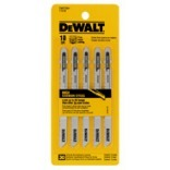 DW3760H 5PK 4 IN. 10T JIGSW BLADE